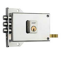 Cerraduras de sobreponer, para puertas de entrada