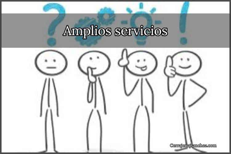 Amplios servicion en san vicente del raspeig