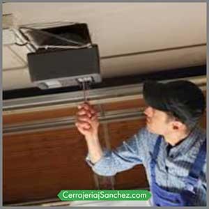 Reparación puertas automáticas garaje